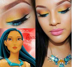 Pocahontas Makeup Inspired