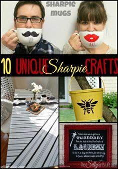 10 Unique Sharpie Crafts