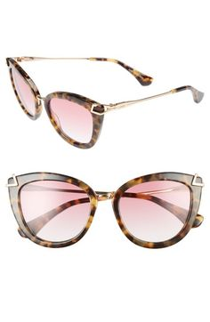 Sonix Melrose 51mm Gradient Cat Eye Sunglasses available at #Nordstrom