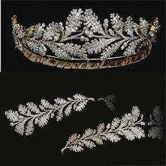 FROM THE COLLECTION OF THE HON. DAISY FELLOWES DIAMOND TIARA, EARLY 19TH CENTURY