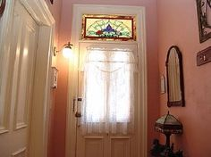 Glass Art For Kids Glass Art Sculpture Blue Product Transom Windows, Old Windows, Stained Glass Panels, Stained Glass Art, Uses Of Glass, Crushed Glass, Glass Wall Art, Glass Design, Candle Sconces
