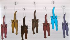 Stained Glass Cats...web...                                                                                                                                                                                 More