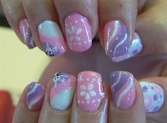Love the pink and purple.