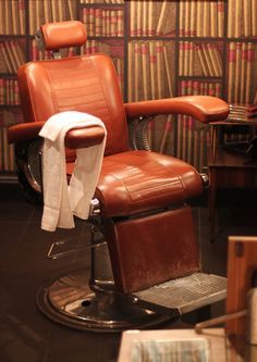 Old fashion barber's chair