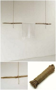 DIY Textile Wall Hanger - So Simple but So Cool