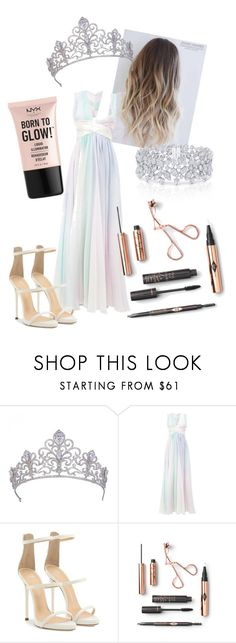 """Prom Queen"" by emmisson ❤ liked on Polyvore featuring Zuhair Murad, Giuseppe Zanotti, Graff and NYX"