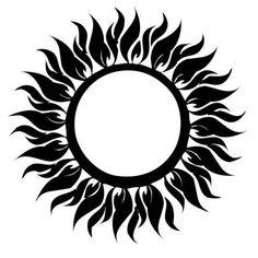 солнце рисунок символами - Поиск в Google