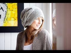 #Вязание_спицами_Шапочка_на осень Вязание для начинающих - YouTube