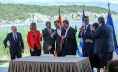 Bilobo Nova: Macedonia Signs Historic Deal With Greece on Name Dispute Usa Tv, Tech Sites, New Board, All News, Global News, Live News, Macedonia, Worlds Largest, Greece