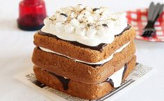 Behold: The S'Mores Birthday Cake via Brit + Co.
