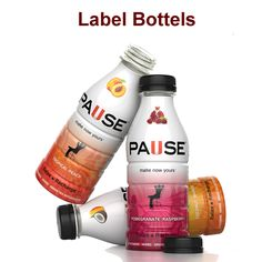 #label #bottels and #shrink #sleves