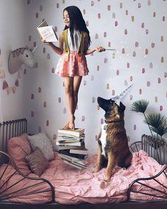 ... Inocencia rosa  @the_life_of_aivax    #CulturaColectiva #unicorn #kid #child #childrenphoto #children #unicornio #little #fantasy #fantasyart #unicorns #kids #instakids #childhood #mermaid #play #mylittlepony #dogoftheday #conceptart #unicornhair #doglover