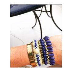 Arm candy arm party bracelets braided #antoniakarra