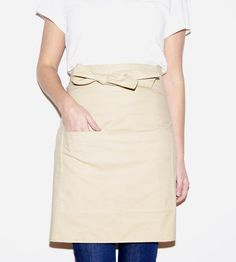 Linen Bistro Apron. Makes me think of the one the flower lady wears in the movie
