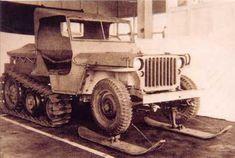 WWII Jeep Half Track