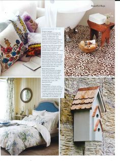 the berkeley bird house featured in the english home magazine april