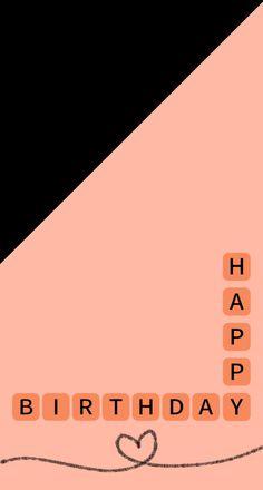 Happy Birthday Frame, Happy Birthday Posters, Happy Birthday Quotes For Friends, Happy Birthday Wallpaper, Creative Instagram Photo Ideas, Photo Instagram, Instagram Quotes, Birthday Captions Instagram, Birthday Post Instagram
