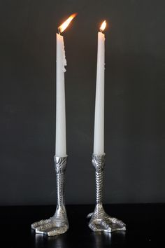 Duck Feet Candles Holders