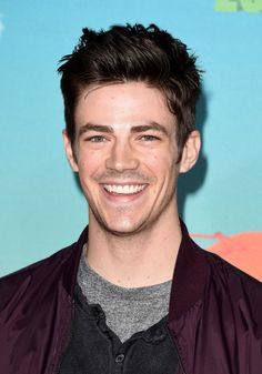 Grant Gustin attends Nickelodeon's 2016 Kids' Choice Awards at The Forum on March 12, 2016 in Inglewood, California.