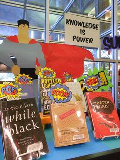 Knowledge is Power! Superheroes!