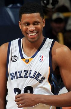 Thursday January 12, 2012 - Memphis Grizzlies forward Rudy Gay (22) had a lot to smile about against the New York Knicks at the FedExForum Thursday evening. Gay scored 26 points. (Nikki Boertman / The Commercial Appeal)