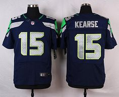nike seattle seahawks 15 jermaine kearse blue elite jersey