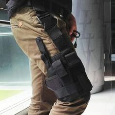 Outdoor Tactical 7 Colors Adjustable Puttee Thigh Leg Shouder Pistol Gun Holster Pouch Camping Wrap-around Hunting Accessories Khaki Tactical Pistol, Pistol Holster, Tactical Gear, Holsters, Tactical Survival, Camouflage, Leg Thigh, Hunting Accessories, Travel Accessories