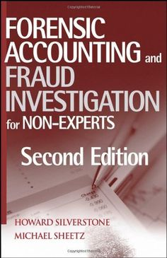 One of my many books.......Forensic Accounting and Fraud Investigation for Non-Experts by Howard Silverstone, http://www.amazon.com/dp/0471784877/ref=cm_sw_r_pi_dp_XZHPpb0Q2GTZW
