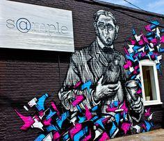 Sample Graffiti Art in Richmond, VA
