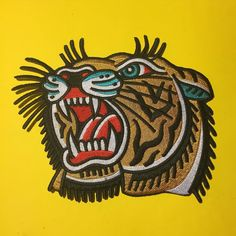 XL Tiger Patch from @fewandfarcollective Available now. Check out many cool…