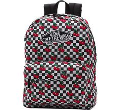 Realm Backpack Cherry Checker - 1