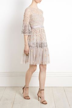 Shop the Needle & Thread Climbing Blossom Dress with next day delivery. Discover more at our flagship online store.
