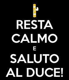 Resta calmo