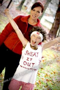 Coolest Homemade Richard Simmons Halloween Costume  sc 1 st  Pinterest & 196 best Funny Halloween Costumes images on Pinterest | Halloween ...