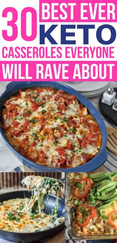 Love an easy casserole, can't wait to try these keto casserole recipes! Now I… Love an easy casserole, can't wait to try these keto casserole recipes! Now I have some of the BEST low carb dinner casseroles for weight loss! Ketogenic Casserole, Keto Casserole, Low Calorie Casserole, Paleo Casserole Recipes, Casserole Ideas, Enchilada Casserole, Casserole Dishes, Ketogenic Recipes, Diet Recipes