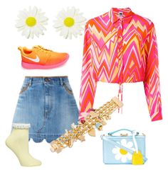 """C24"" by irma-silvano on Polyvore featuring moda, RED Valentino, M Missoni, Dorothy Perkins, NIKE, Disney e Mark Cross"