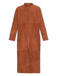 Luri suede long coat | The Row | MATCHESFASHION.COM US