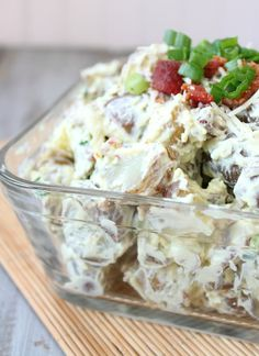 Guacamole and Bacon Potato Salad from Sixsistersstuff.com