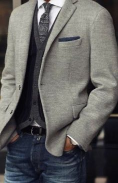 Mens Smart Casual Outfits, Blazer Outfits Men, Men Casual, Best Mens Fashion, Suit Fashion, Fashion Outfits, Fashion News, Outfit Hombre Casual, Creative Shirts
