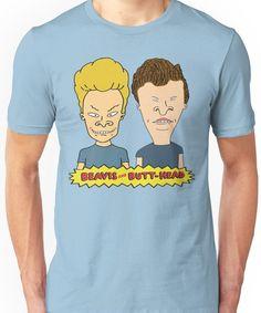 40426fd40f9 Beavis and Butthead Unisex T-Shirt V Neck T Shirt