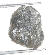 Antique 2.40 Ct Irregular Shape Natural Grayish Color Rough Diamond For Jewelry