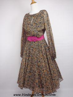 1980s does 1950s Floral Rockabilly Dress,   http://shop.vintageclothin.com/1980s-does-1950s-Floral-Rockabilly-Dress-Vintage-Dress-VC1239.htm  #1980sdress #vintagedress #1950sdress  #1980 #1980s #1950 #1950s  #Dress #vintagedress #vintageclothes #vintageshop #vintagestore #vintageclothing #vintageclothin #vintage #dressvintage #vintageclothin.com #vintageshopping #retro #retrodress #retroclothes #retroclothing #vintagefashion #forsale #buyme  #vintageseller #rockabilly #pinup #floral #flowers