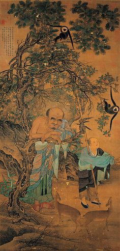宋-劉松年-畫羅漢-台北故宫 by China Online Museum - Chinese Art Galleries, via Flickr