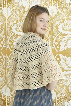 Ravelry: Lavish Lace Shawl / Emily Shawl pattern by Lion Brand Yarn