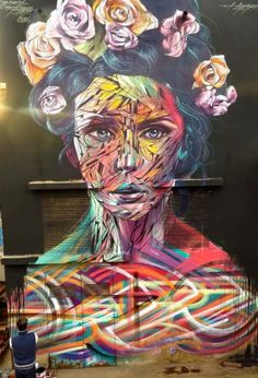 Street Art by Hopare, located in Casablanca, Morocco