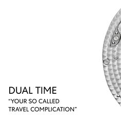 """Switching between time zones made easy: in order to indicate time in two different time zones, the dual time has two hour hands and allows its wearer to set a """"home time"""" for reference. Watch Complications, Vacheron Constantin, Time Zones, Make It Simple, Presents, Hands, World, Easy, Gifts"""
