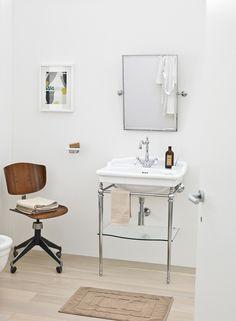 The.Artceram Hermitage bathroom collection  #washbasin #consolle #ceramics #design #madeinitaly #bagno