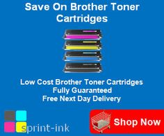 Cheap Brother laser toner cartridges - Printer ink for Brother laser printers - Free delivery – Fully guaranteed http://www.sprint-ink.co.uk/toner-cartridges/brother-toner-cartridges