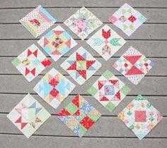 Diary of a Quilter - a quilt blog: New Quilt Blocks