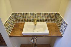 平屋のお家、注文住宅COVACO(コバコ)16 Sink, Home Decor, Sink Tops, Interior Design, Home Interior Design, Sinks, Vanity, Home Decoration, Decoration Home